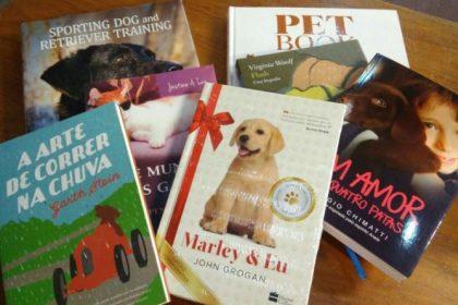 Livros com história de cachorro ou gato